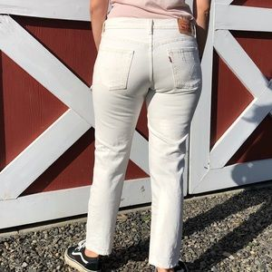 Levi's Jeans - Levi's 501 CT - White size 27